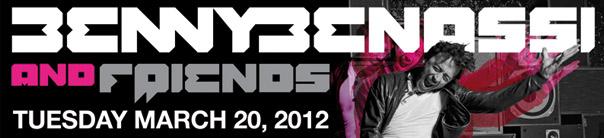 Benny Benassi, Martin Solveig, Congorock & Harvard Bass at LIV - WMC 2012 Miami