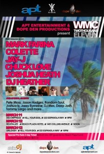 Dope Den & APT Entertainment Party WMC 2011