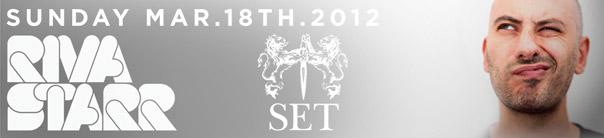 Movement presents Riva Starr at SET - WMC 2012 Miami