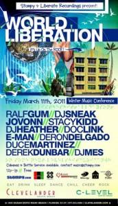 World Liberation Stompy.com Party WMC Miami 2011
