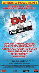 DJ Mag Recession Sessions Shelborne Pool Party (23-03-2011)