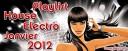 Playlist House Electro Janvier 2012
