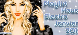Playlist House Electro Janvier 2013