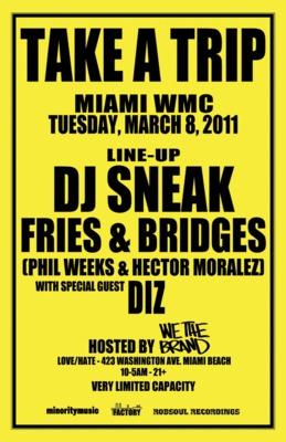 Take A Trip Miami WMC 2011