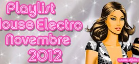 Playlist House Electro Novembre 2012