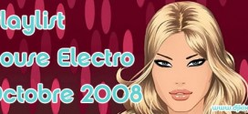 Playlist House Electro Octobre 2008