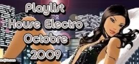 Playlist House Electro Octobre 2009
