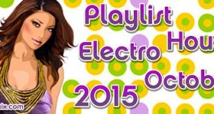 Playlist House Electro Octobre 2015